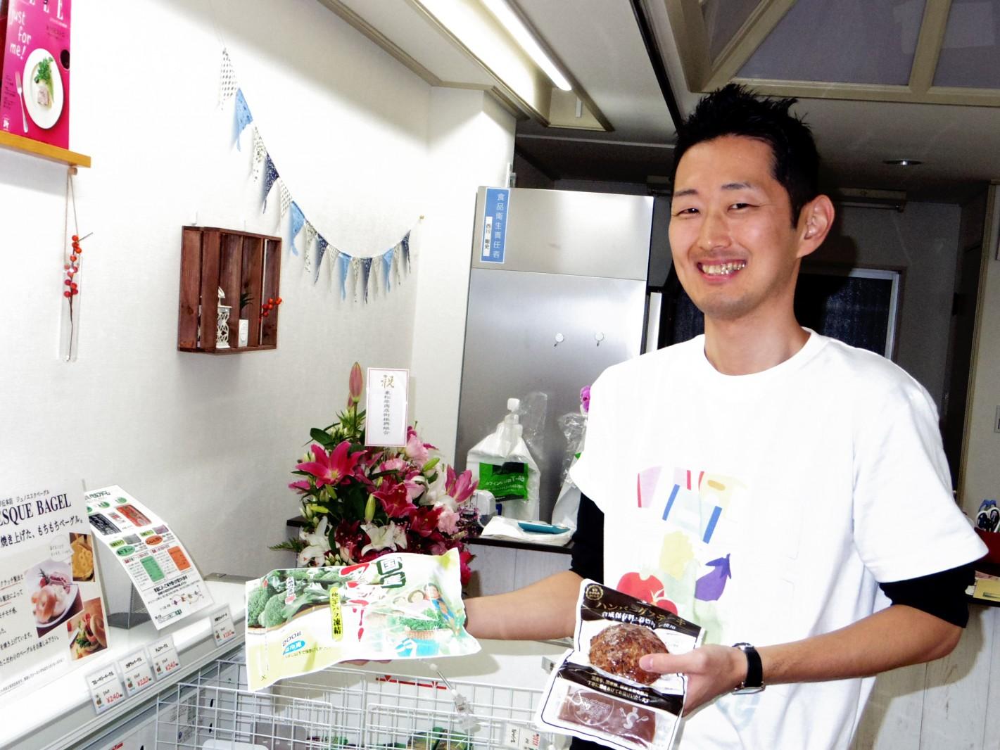 TBSラジオ 「森本毅郎スタンバイ!」5月11日朝、『現場にアタック』コーナーは、冷凍食品特集
