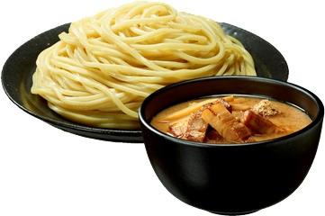 焼豚付きの「つけ麺」