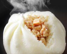ふっくらジューシー「特撰豚肉饅」(久保田食品)