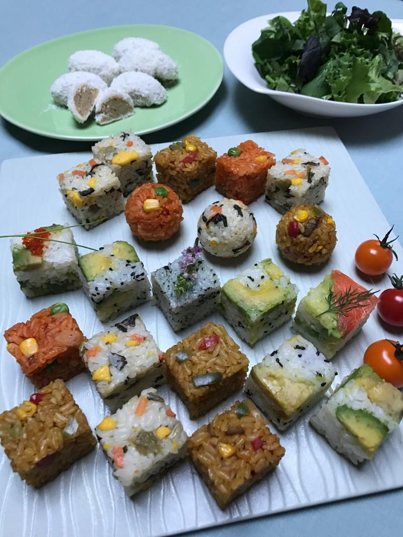 冷凍食品のごはん類をひとくふう!デザートもアレンジ! 春の華やかランチパーティに