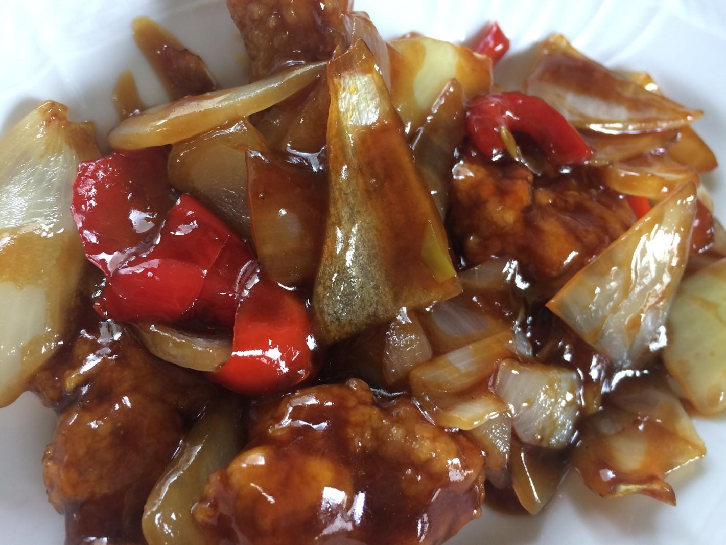 玉ねぎを切って加えて炒めて簡単、中華の鉄人®︎陳建一 ワンクックメニュー(^。^) 今月のプレゼントに入ってます!