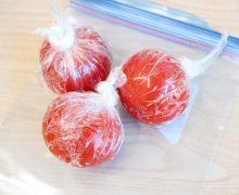 ゴリゴリおろす! 夏にうれしい トマトのひんやりシャーベット
