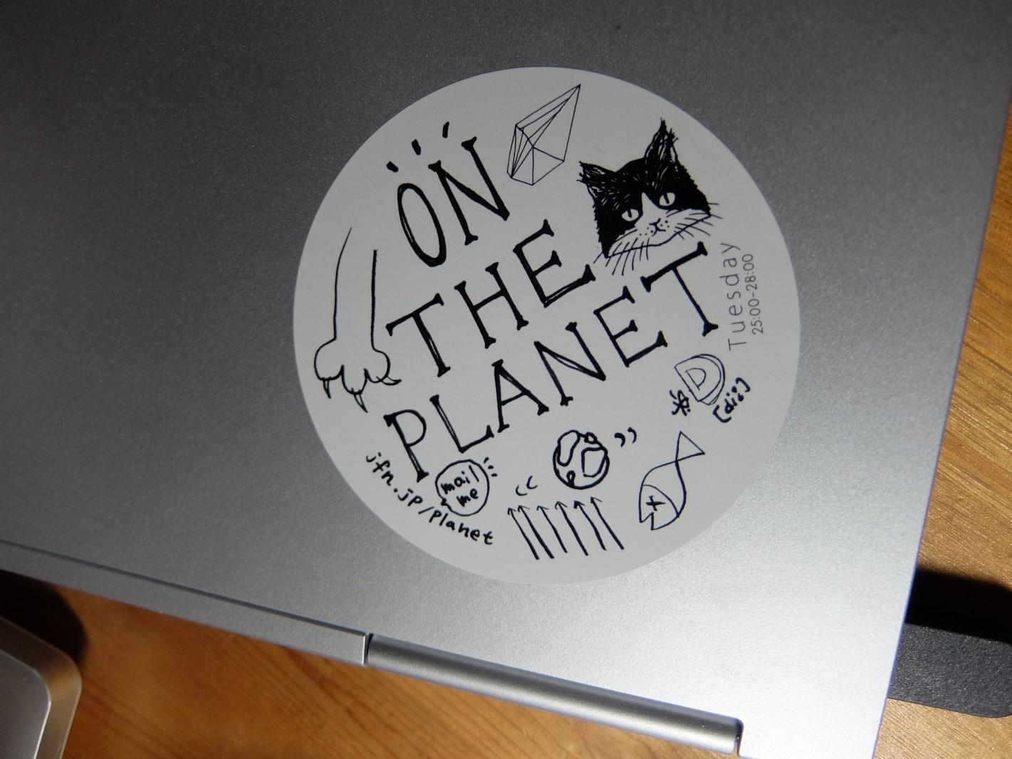 猫の日 猫ステッカー(ON THE PLANET)