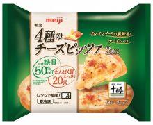 家庭用冷凍ピザのトレンド、美味しく、低糖質、そして高たんぱく、おつまみにうす焼きも