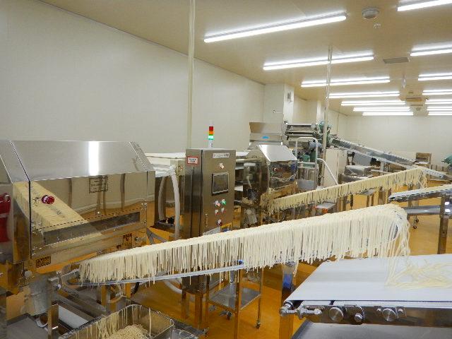 テーブルマーク 未来型 冷凍うどん工場「魚沼水の郷工場 第二工場」