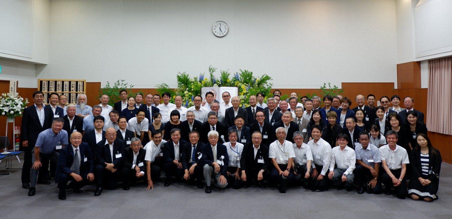 食品冷凍学の功労者、故小嶋秩夫先生お別れの会、くしくも業界50年目の日
