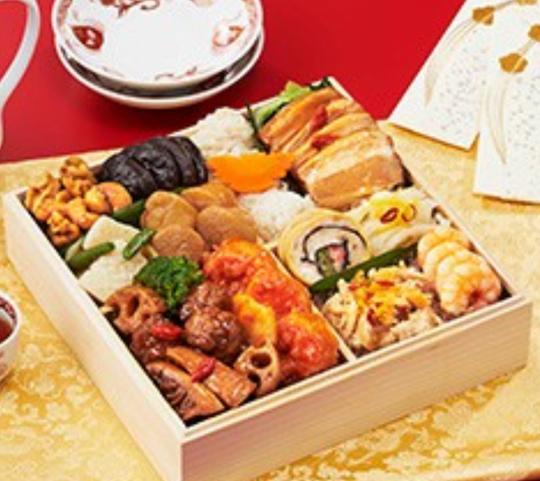 お正月も個性派時代 こだわり中華『安曇野厨房』の中華おせちが好評だそうです
