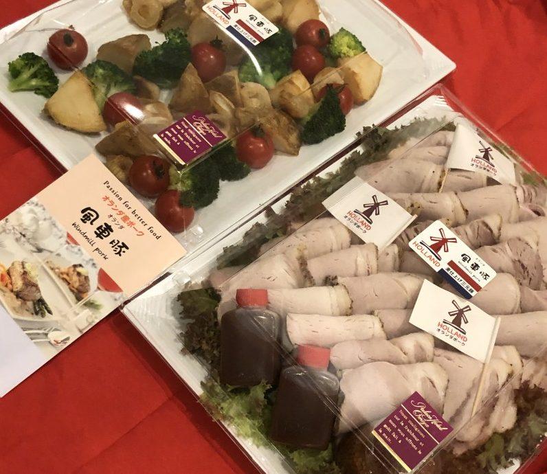 2018年も輸入量二桁増、オランダ「風車豚」は愛される食材