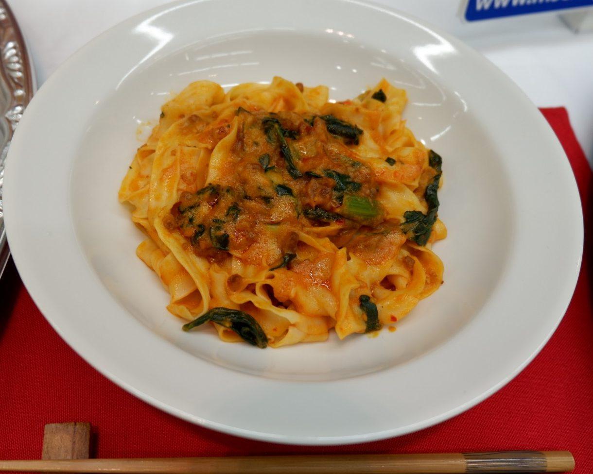 汁なしのシビレる『マー活』麺、マルハニチロ「汁なし担々刀削麺」