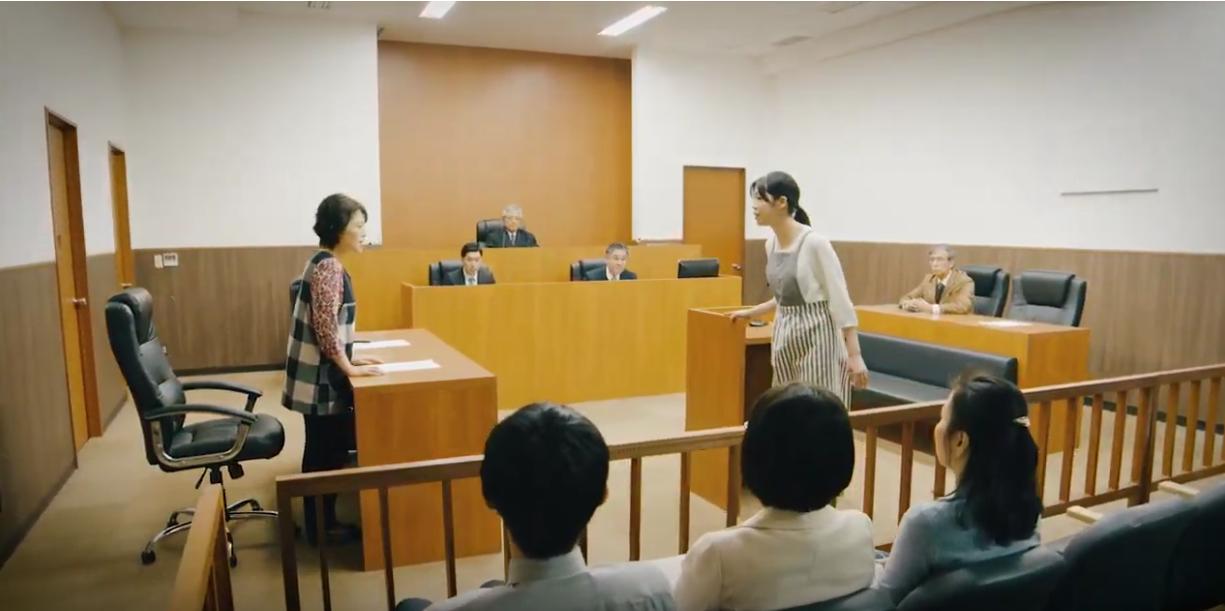 冷凍食品裁判、嫁×姑の論争、夫と娘の応援を受けて、、、判決はいかに(冷食協のCMです)