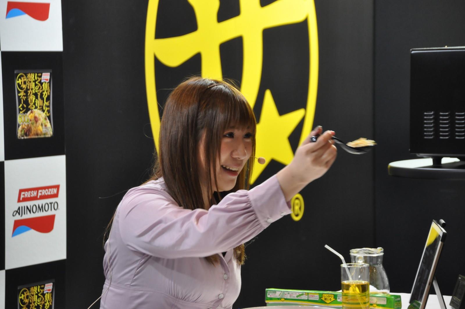 「ニコニコ超会議2019」 味の素冷凍食品「ザ★チャーハン」ブース盛り上がる