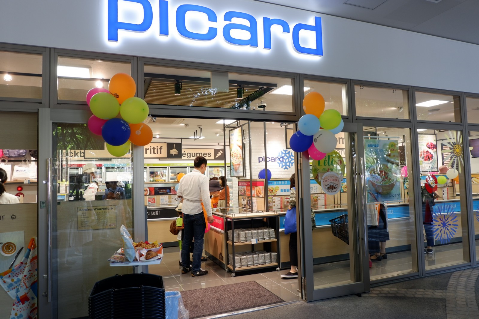 Picard(ピカール)武蔵小杉店オープン! 初日から賑わい フォアグラ、鴨肉も入荷