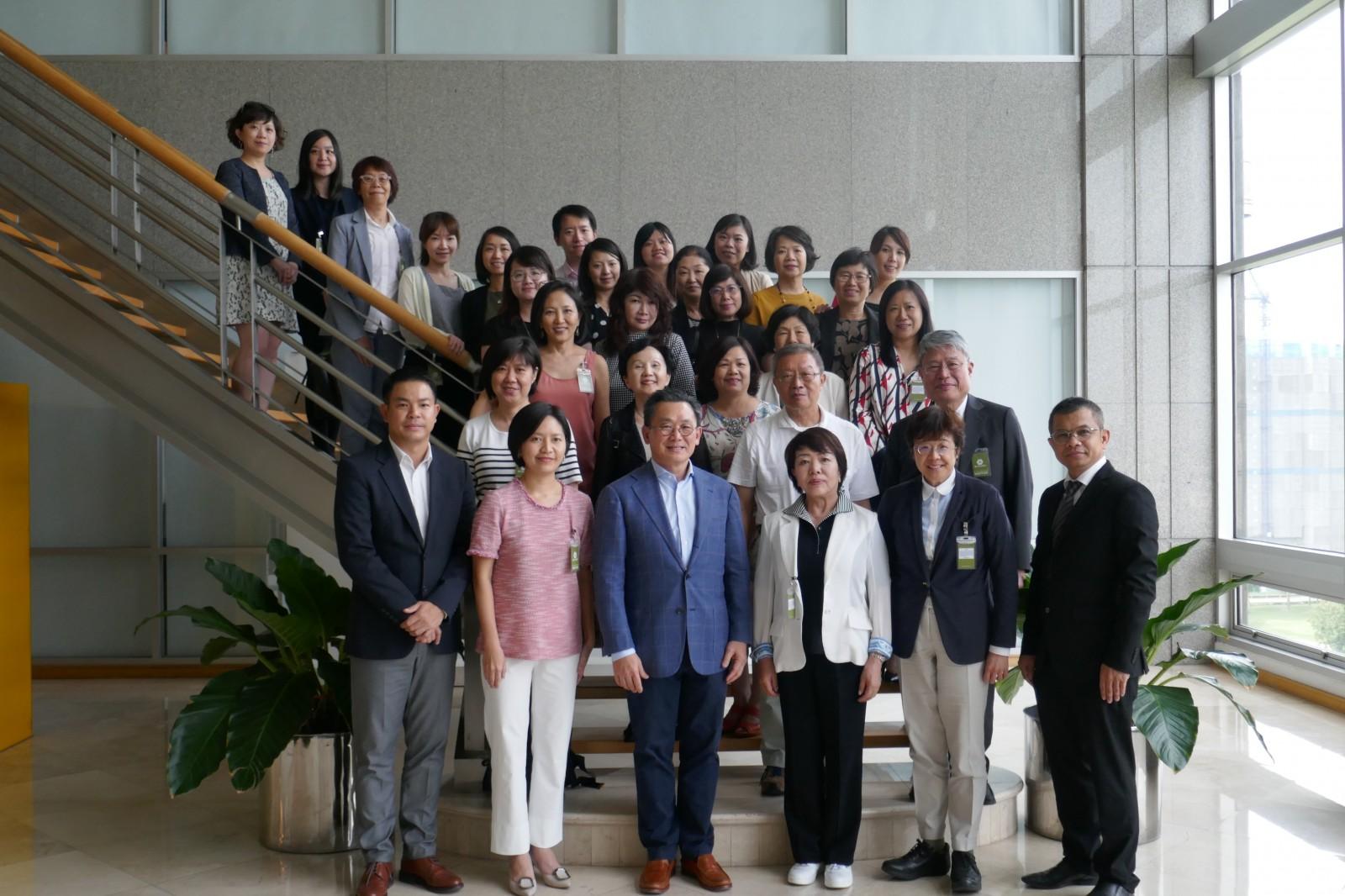 日本・台湾WF-NET タイで再会して合同研修