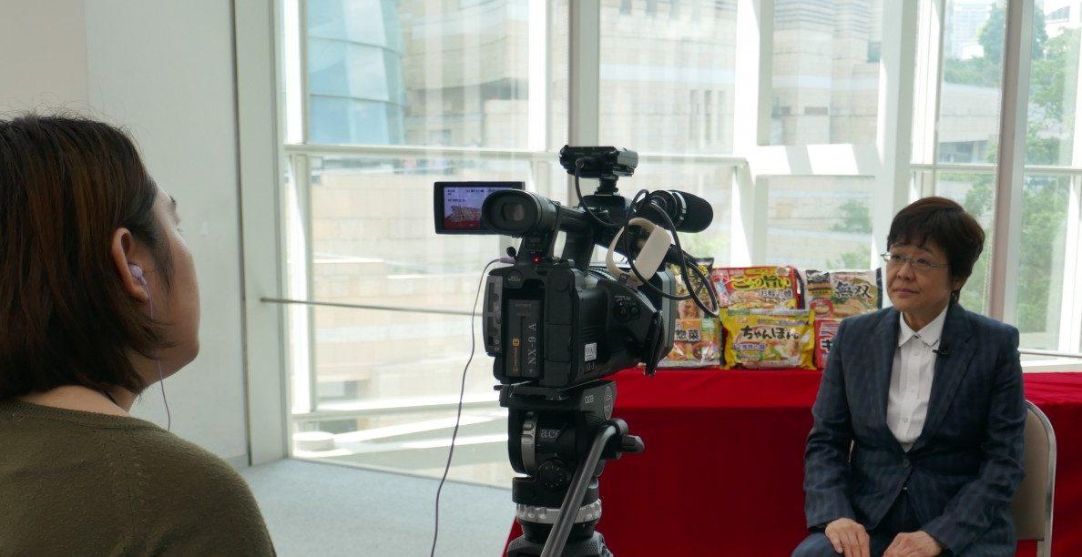 冷凍食品を特集 6月24日テレビ朝日「スーパーJチャンネル」