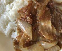 タケムラさん、カレー1皿できました^^v 祝 初著書「絶品レンチンごはん」