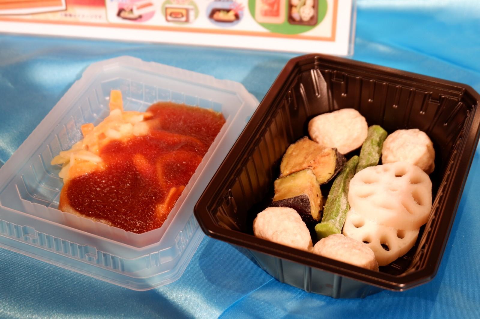 ニッスイの「レンジでつくる」シリーズ 中華に続いて服部栄養専門学校監修の「和食キット」