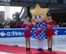 東京スカイツリーの下でアイススケート♪ 日清製粉120周年で先着2000名に「コニャラ」カレンダーをプレゼント