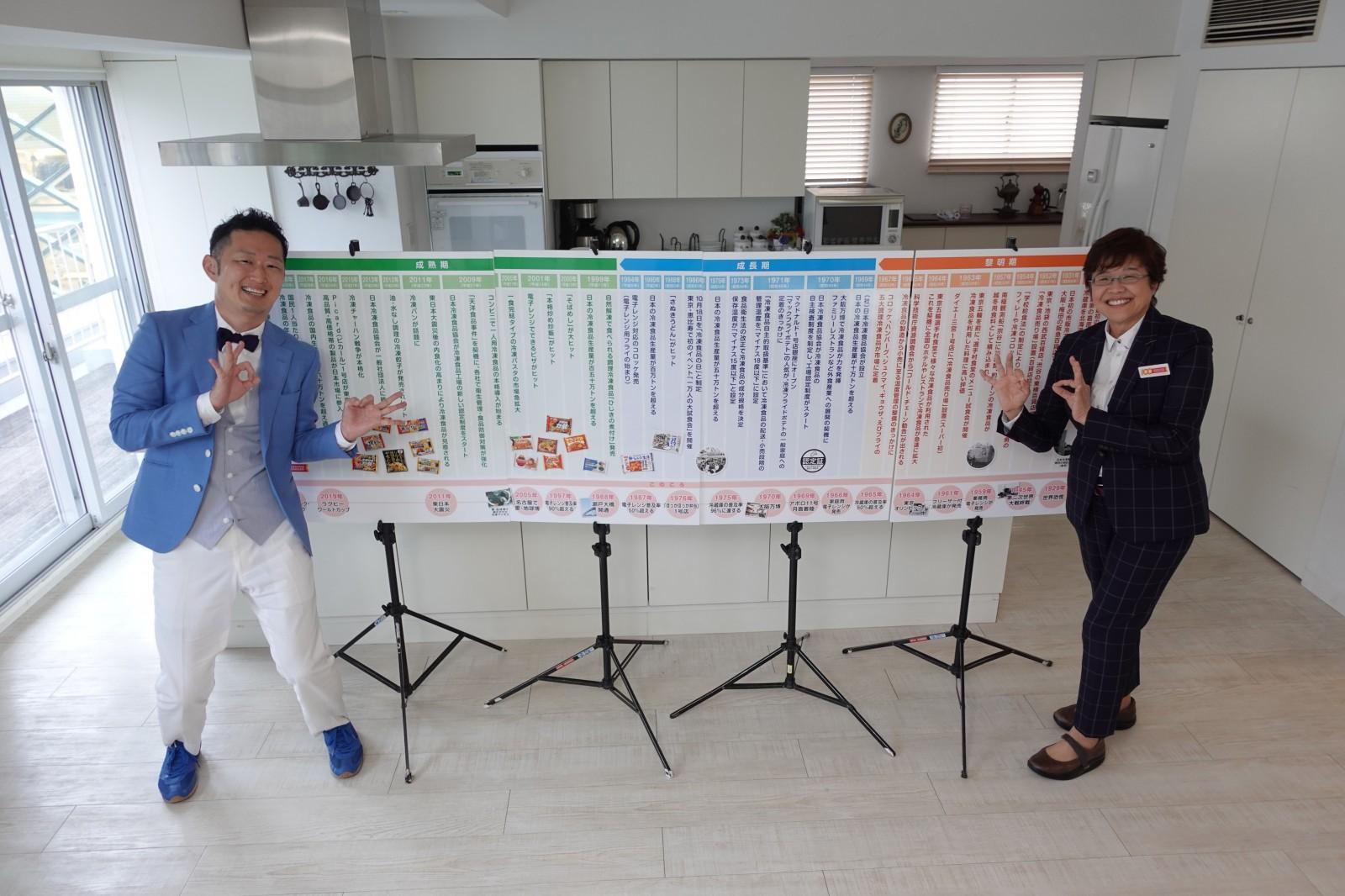 【動画】冷凍王子にっしー「冷凍チャンネル」 冷凍食品100年の歴史 黎明期編公開