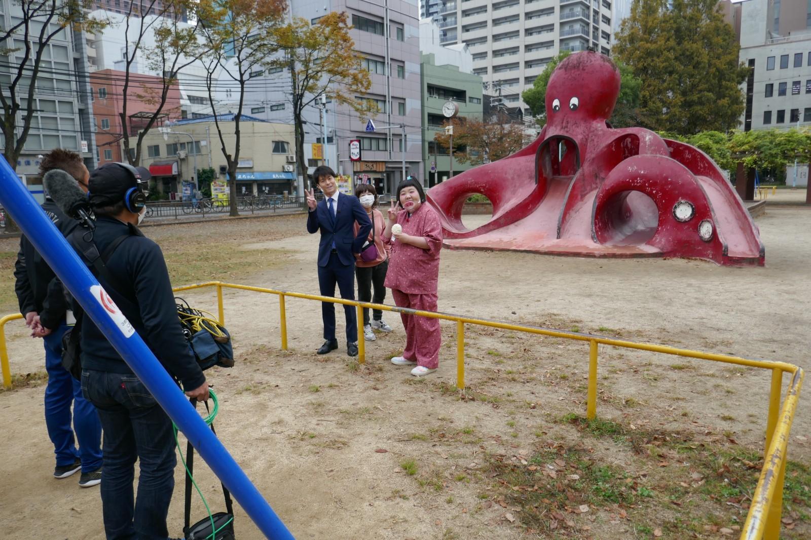 朝日放送「CAST」11月19日「藍ちゃんの絶対ハズさへんランキンBOO」は冷凍食品!!なぜかタコの公園から~