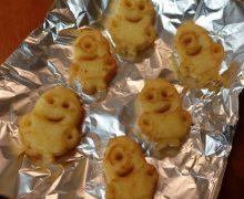 笑って食べられるポテト「ミニオンズポテト」 これがなかなかの美味しさ