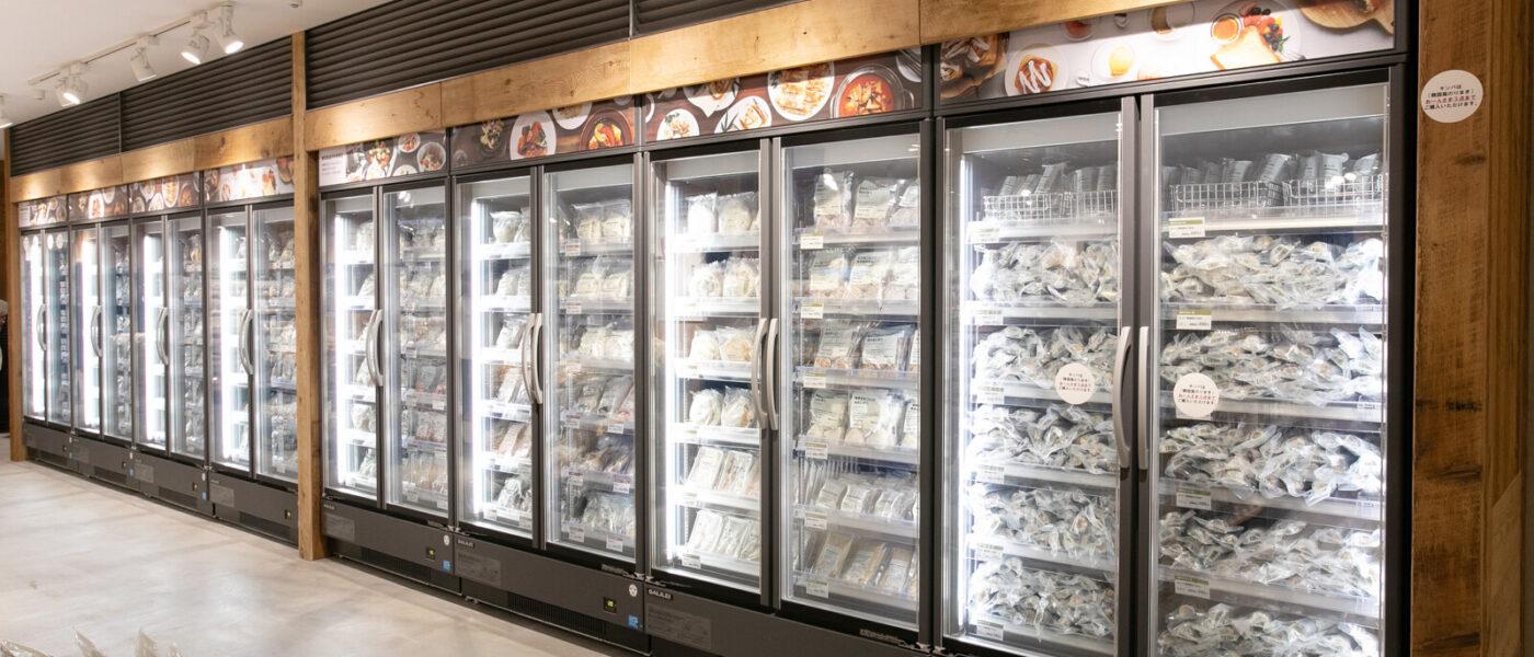 """冷凍食品99品目!ミールキットを一気に15品、冷凍野菜10品発売 「無印良品 港南台バーズ」~""""食""""の大型専門売場"""