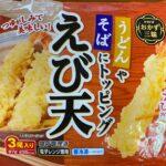 ありそうでなかったレンジ対応の立派な「えび天」~トロナジャパン